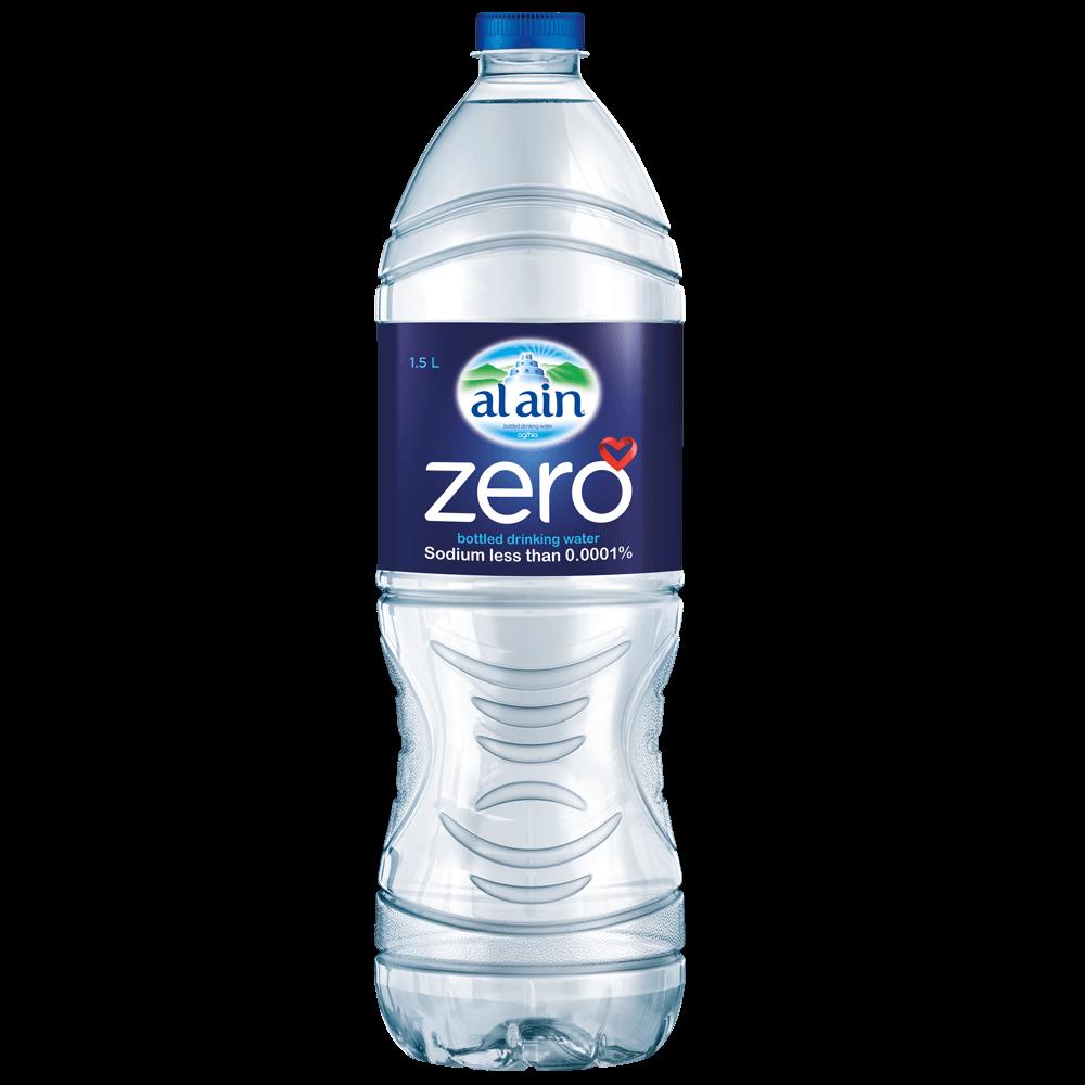 Al Ain Zero drinking water