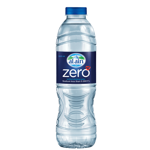 Al Ain Zero bottled water