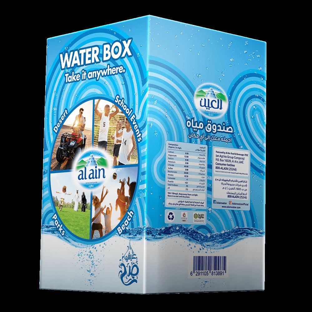 Al Ain Water Box mineral water